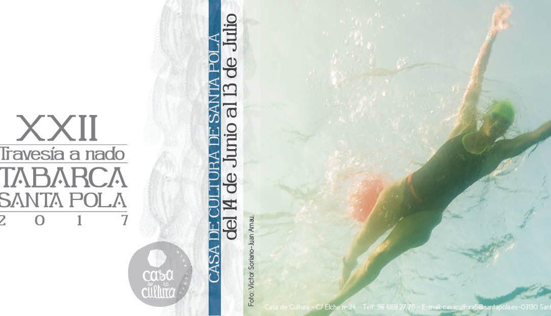 Exposición de fotografía. Travesía a nado Tabarca-Santa Pola