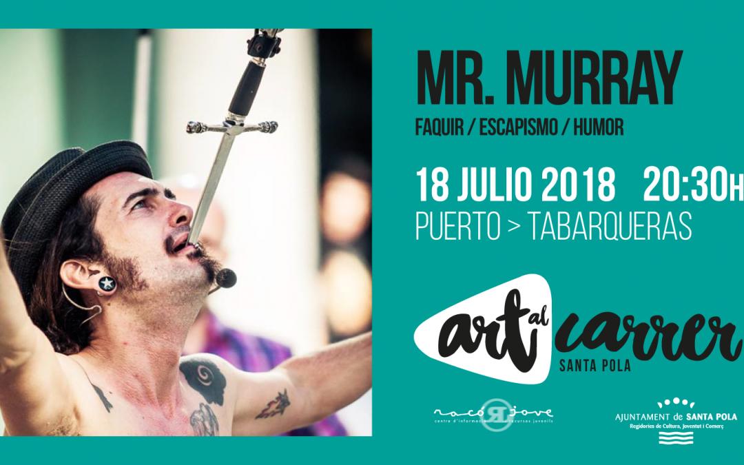 Art al Carrer. Mr Murray