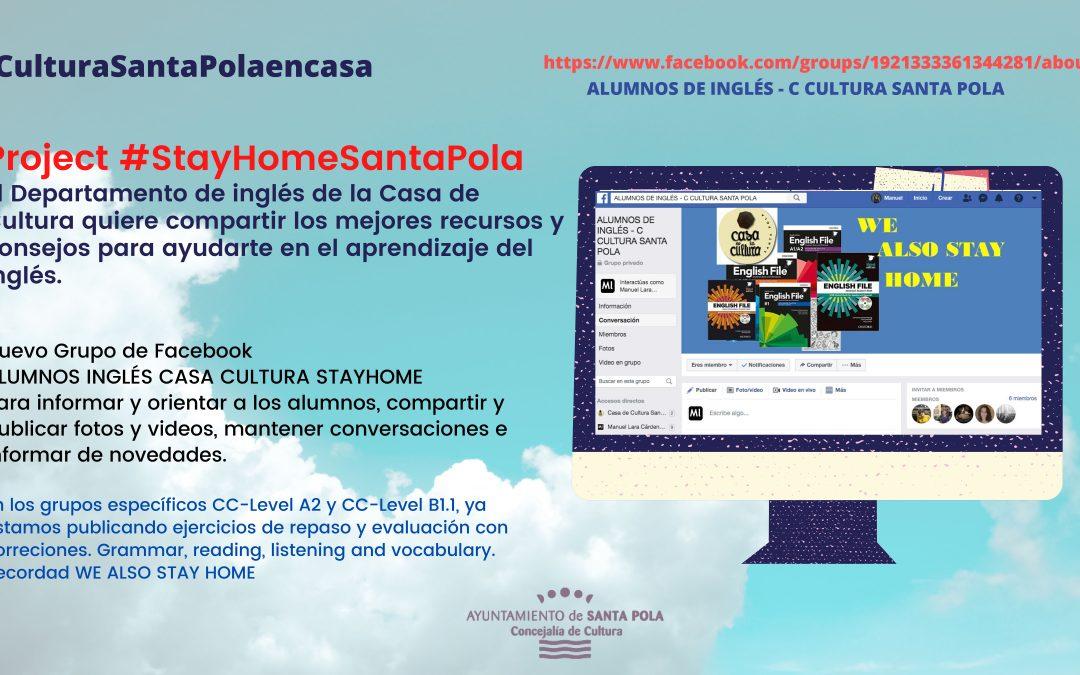 Project #StayHomeSantaPola
