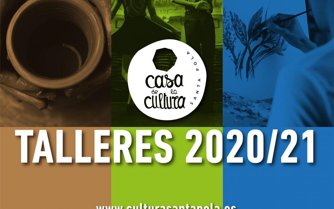 Talleres Artísticos. Invierno 2020 – 21
