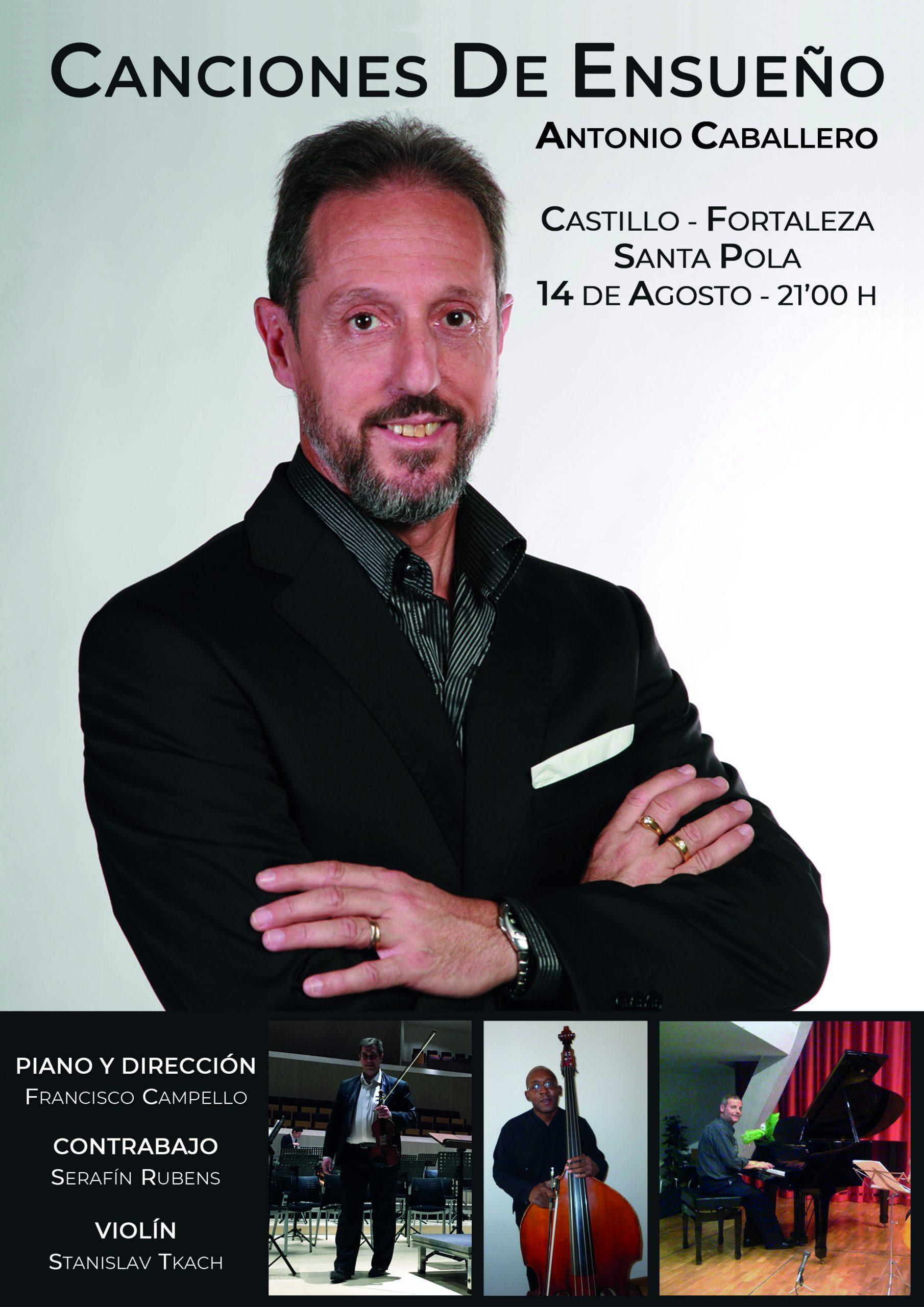 Cartel Antonio Caballero
